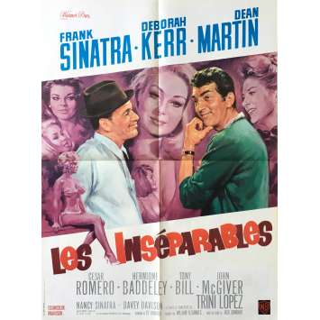 LES INSEPARABLES Affiche de film - 60x80 cm. - 1965 - Franck Sinatra, Jack Donohue