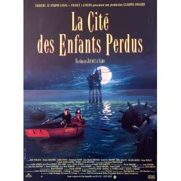 LA CITE DES ENFANTS PERDUS Affiche de film - 40x60 cm. - 1995 - Ron Perlman, Jean-Pierre Jeunet, Marc Caro