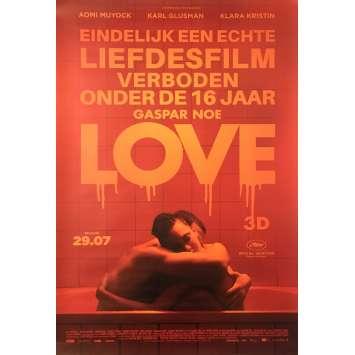 LOVE Original Movie Poster - 33x47 in. - 2015 - Gaspar Noe