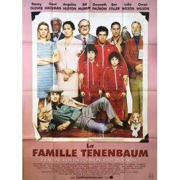 LA FAMILLE TANNENBAUM Affiche de film 120x160 - 1998 - Cameron Diaz, Wes Anderson