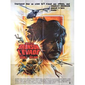 L'EVADE Affiche de film 120x160 - 1975 - Charles Bronson, Tom Gries