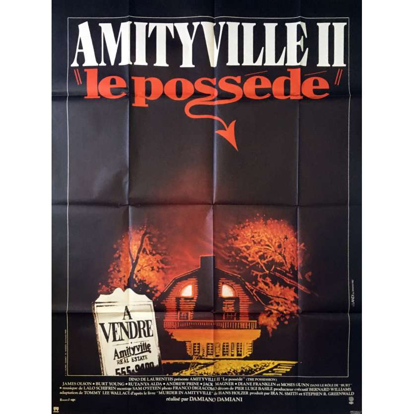 AMITYVILLE II Movie Poster
