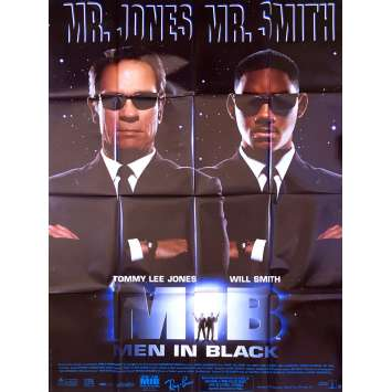 MEN IN BLACK Affiche originale FR '97 Will Smith, Tommy Lee Jones movie poster