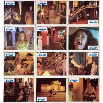 SUSPIRIA Original Lobby Cards x12 - 10x12 in. - 1977 - Dario Argento, Jessica Harper