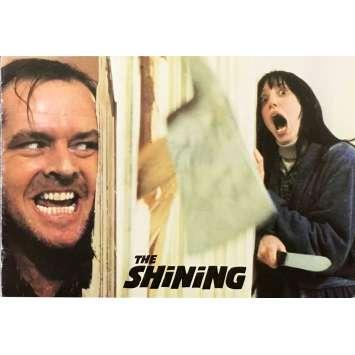 SHINING Dossier de presse - 18x24 cm. - 1980 - Jack Nicholson, Stanley Kubrick