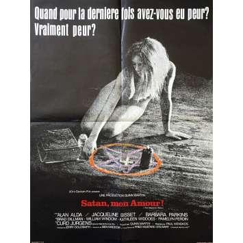 THE MEPHISTO WALTZ Original Movie Poster - 23x32 in. - 1971 - Paul Wendkos, Jacqueline Bisset