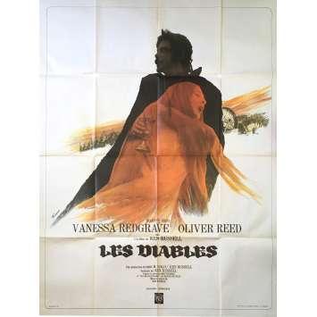 LES DIABLES Affiche de film - 120x160 cm. - 1971 - Oliver Reed, Ken Russel