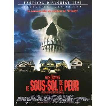 LE SOUS-SOL DE LA PEUR Affiche de film - 40x60 cm. - 1991 - Everett McGill, Wes Craven