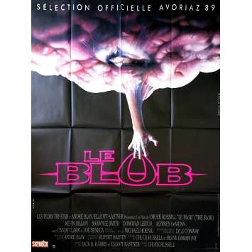 THE BLOB Original Movie Poster - 47x63 in. - 1988 - Chuck Russel, Kevin Dillon