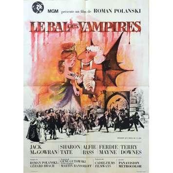 LE BAL DES VAMPIRES Affiche de film - 60x80 cm. - 1967 - Sharon Tate, Roman Polanski