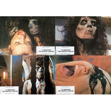 THE REVENGE OF THE LIVING DEAD GIRLS Original Lobby Cards - 9x12 in. - 1987 - Pierre B. Reinhard, Cornélia Wilms