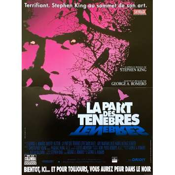LA PART DES TENEBRES Affiche de film - 40x60 cm. - 1993 - Timothy Hutton, George A. Romero