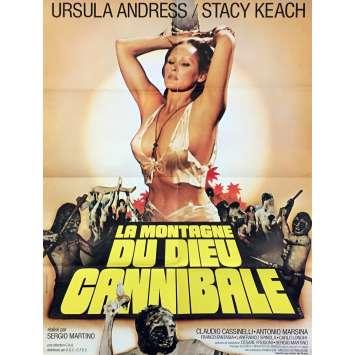 LA MONTAGNE DU DIEU CANNIBALE Affiche de film - 60x80 cm. - 1978 - Ursula Andress, Sergio Martino