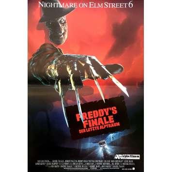 LA FIN DE FREDDY Affiche de film - 40x60 cm. - 1991 - Robert Englund, Wes Craven