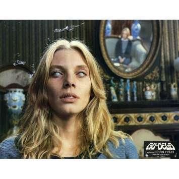 L'AU DELA Photo de film - 21x30 cm. - R1990 - Catriona MacColl, Lucio Fulci