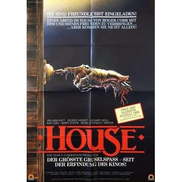 HOUSE Affiche de film - 59x84 cm. - 1984 - William Katt, Steve Miner