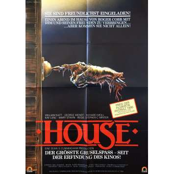 HOUSE Original Movie Poster - 23x33 in. - 1984 - Steve Miner, William Katt