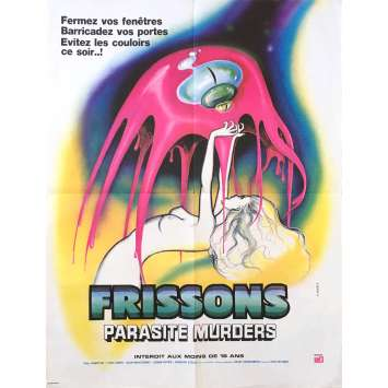 FRISSONS Affiche de film - 60x80 cm. - 1975 - Paul Hampton, David Cronenberg