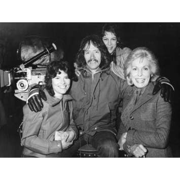 FOG Photo de presse - 18x24 cm. - 1979 - Jamie Lee Curtis, John Carpenter