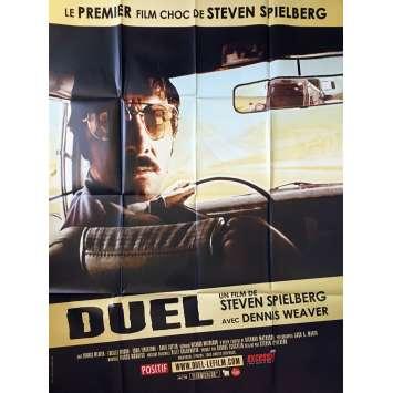 DUEL Affiche de film - 120x160 cm. - 1971 - Dennis Weaver, Steven Spielberg