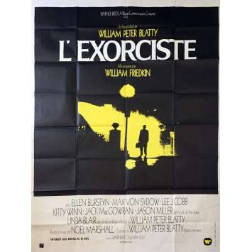 L'EXORCISTE Affiche de Film 120x160 - 1974 - William Friedkin