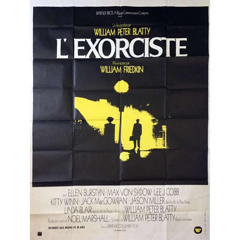 THE EXORCIST French movie poster 1974 William Friedkin, Blatty horror classic!