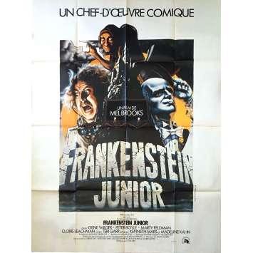 FRANKENSTEIN JUNIOR Affiche de film 120x160 cm - 1974 - Gene Wilder, Mel Brooks