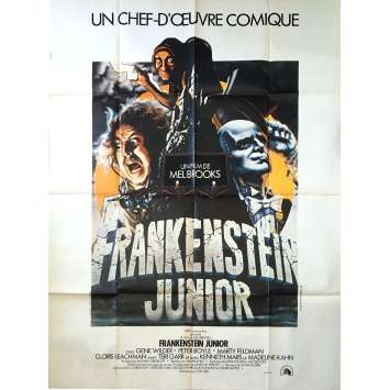 YOUNG FRANKENSTEIN French Movie Poster 120x160 '74 Cult Mel Brooks Comedy