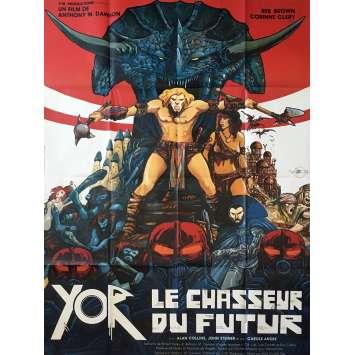 YOR LE CHASSEUR DU FUTUR Affiche de film - 120x160 cm. - 1983 - Druillet, Antonio Margheriti