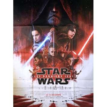 STAR WARS VIII - LES DERNIERS JEDI Affiche de film - 120x160 cm. - 2017 - Daisy Ridley, Rian Johnson