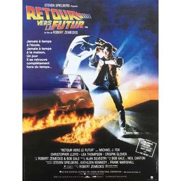 RETOUR VERS LE FUTUR Affiche de film - 40x60 cm. - 1985 - Michael J. Fox, Robert Zemeckis