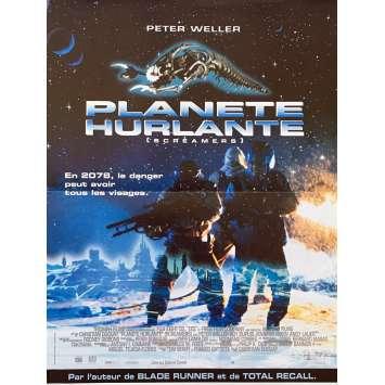 PLANETE HURLANTE Affiche de film - 40x60 cm. - 1995 - Peter Weller, Chritian Duguay