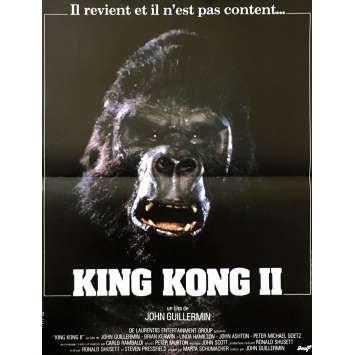 KING KONG Original Movie Poster - 15x21 in. - 1976 - John Guillermin, Fay Wray