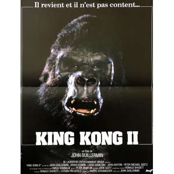 KING KONG Original Movie Poster - 15x21 in. - 1976 - John Guillermin, Fay Wray