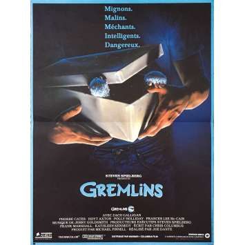GREMLINS Original Movie Poster - 15x21 in. - 1984 - Joe Dante, Zach Galligan