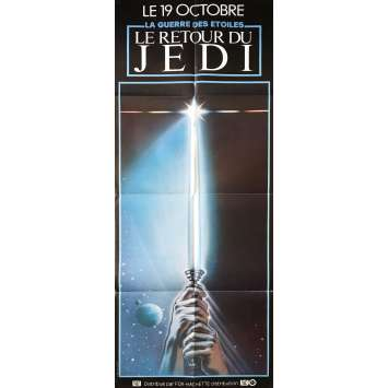 STAR WARS - THE RETURN OF THE JEDI Original Movie Poster - 23x63 in. - 1983 - Richard Marquand, Harrison Ford