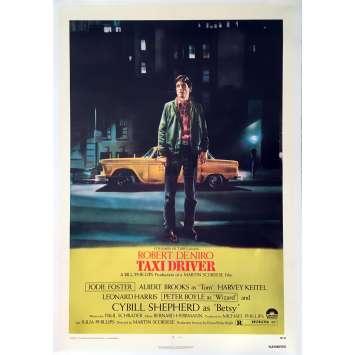 TAXI DRIVER Affiche de film US entoilée - 1976 - Scorsese, de Niro