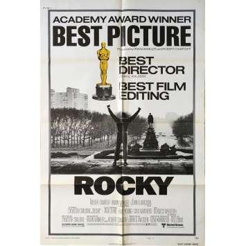 ROCKY Affiche de film Reviews - 69x102 cm. - 1976 - Sylvester Stallone, John G. Avildsen