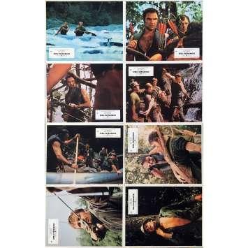 DELIVERANCE Original Lobby Cards Set B - 9x12 in. - 1973 - John Boorman, Burt Reynolds