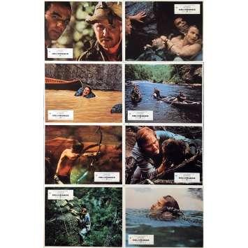 DELIVERANCE Original Lobby Cards Set A - 9x12 in. - 1973 - John Boorman, Burt Reynolds