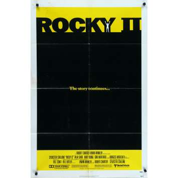 ROCKY II 2 Affiche de film - 69x102 cm. - 1979 - Carl Weathers, Sylvester Stallone