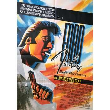 THE ADVENTURES OF FORD FAIRLANE Original Movie Poster - 23x33 in. - 1990 - Renny Harlin, Andrew Dice Clay