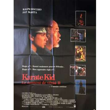 KARATE KID Affiche de film - 120x160 cm. - 1990 - Ralph Macchio, John G. Avildsen