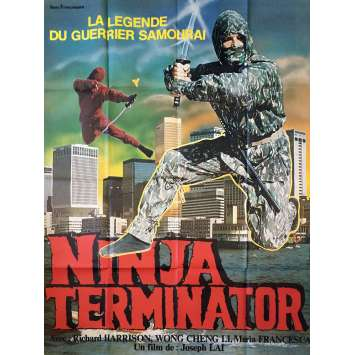 NINJA TERMINATOR Original Movie Poster - 47x63 in. - 1985 - Godfrey Ho, Richard Harrison