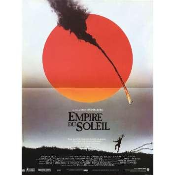 L'EMPIRE DU SOLEIL Affiche de film - 40x60 cm. - 1987 - Christian Bale, Steven Spielberg