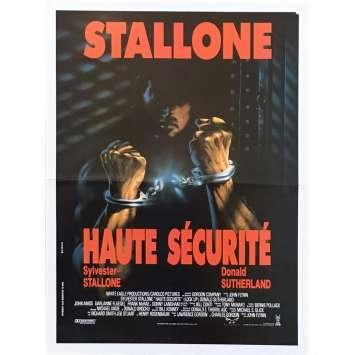 HAUTE SECURITE Synopsis - 21x30 cm. - 1989 - Sylvester Stallone, John Flynn