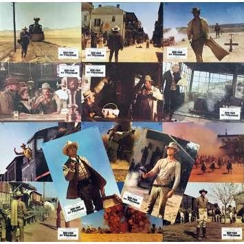 MY NAME IS NOBODY Original Lobby Cards x14 - 9x12 in. - 1973 - Tonino Valerii, Henry Fonda, Terence Hill