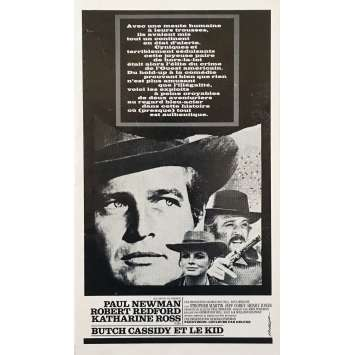 BUTCH CASSIDY AND THE SUNDANCE KID Original Pressbook 8P - 9x12 in. - 1969 - George Roy Hill, Paul Newman, Robert Redford
