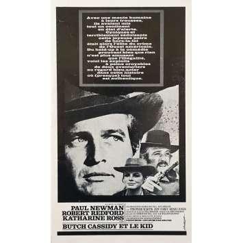 BUTCH CASSIDY ET LE KID Dossier de presse 8P - 21x30 cm. - 1969 - Paul Newman, Robert Redford, George Roy Hill