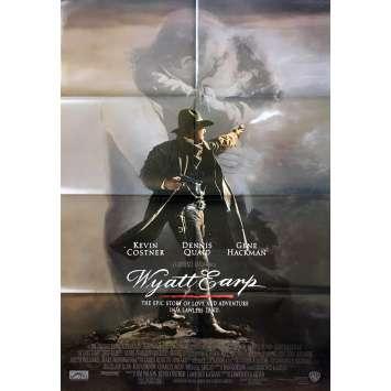 WYATT EARP Affiche de film - 69x102 cm. - 1994 - Kevin Costner, Lawrence Kasdan